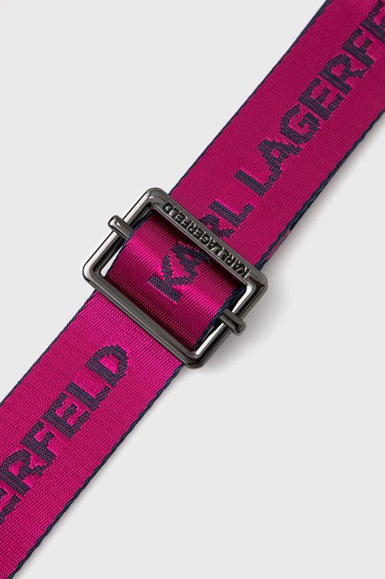 Karl Lagerfeld - Pasek 205W3105 ostry różowy