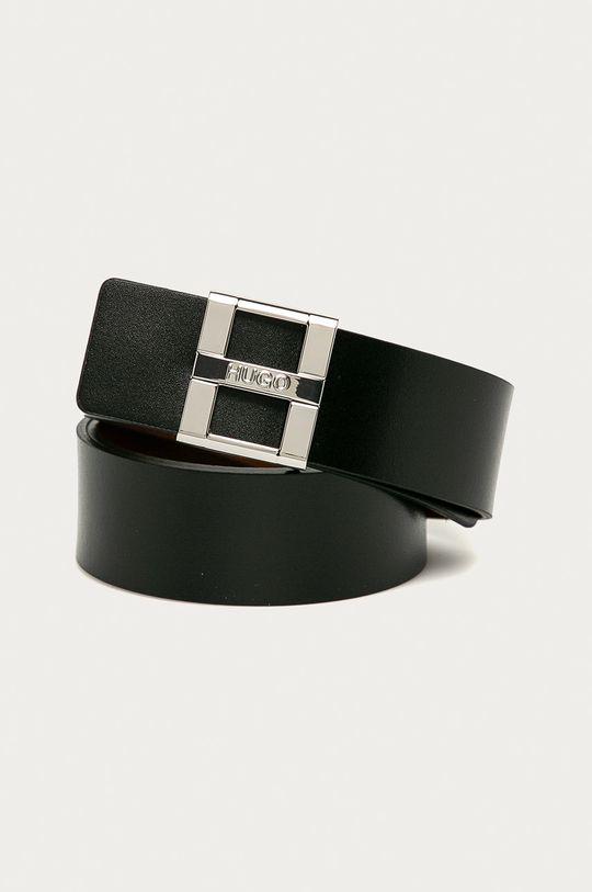 černá Hugo - Kožený pásek Dámský