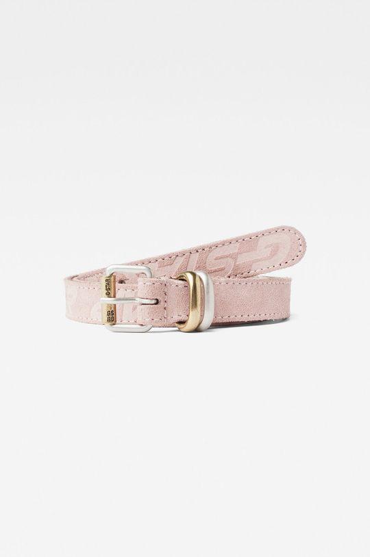 růžová G-Star Raw - Kožený pásek Dámský