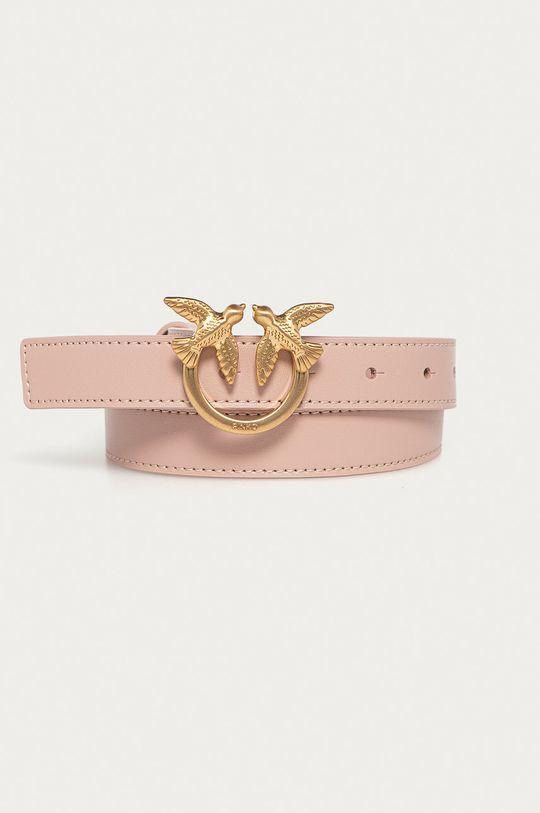 růžová Pinko - Kožený pásek Dámský