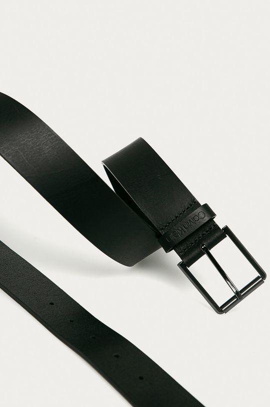 Calvin Klein - Bőr öv fekete