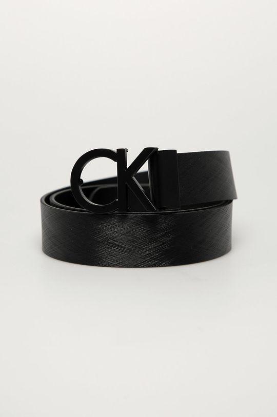 negru Calvin Klein - Curea de piele De bărbați