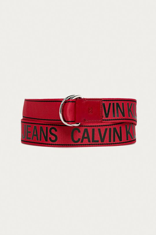 červená Calvin Klein Jeans - Opasok Pánsky