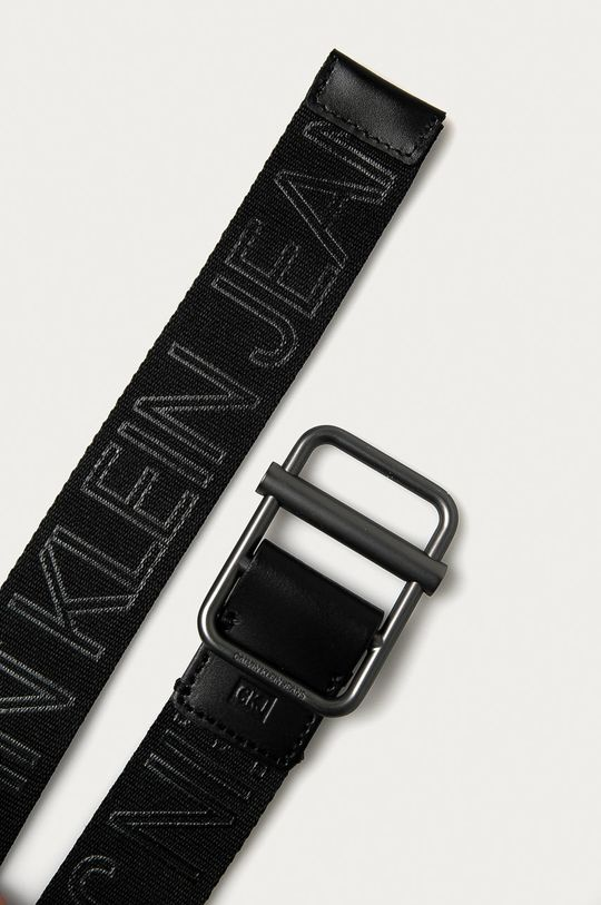 Calvin Klein Jeans - Opasok čierna