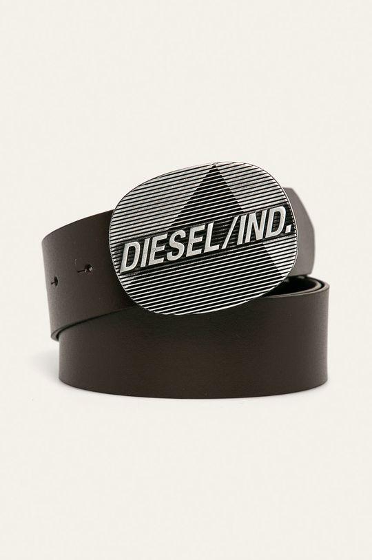 hnědá Diesel - Kožený pásek Pánský