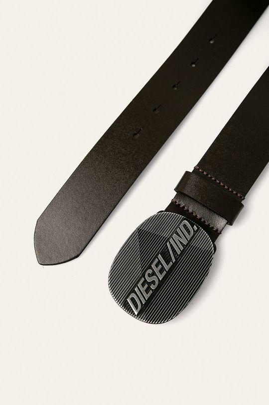 Diesel - Kožený pásek hnědá