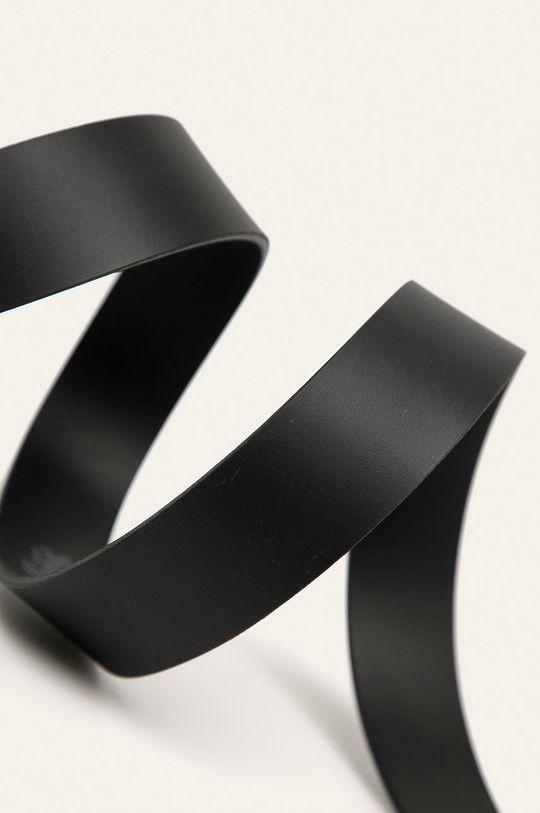 Levi's - Kožený pásek černá