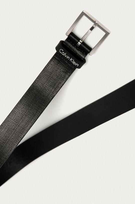Calvin Klein - Curea de piele negru