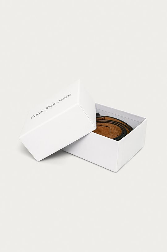 Calvin Klein Jeans - Kožený opasok  100% Prírodná koža