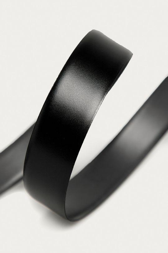 Karl Lagerfeld - Oboustranný kožený pásek  100% Přírodní kůže