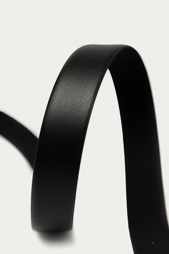 Karl Lagerfeld - Kožený pásek černá