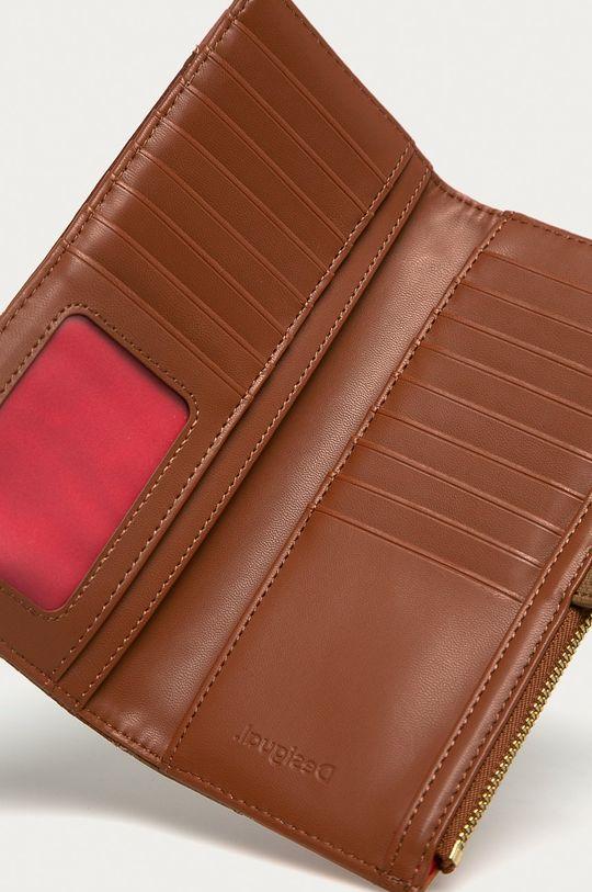 Desigual - Peňaženka hnedá