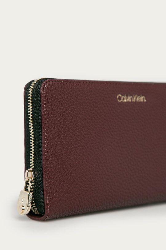 Calvin Klein - Peněženka mahagonová