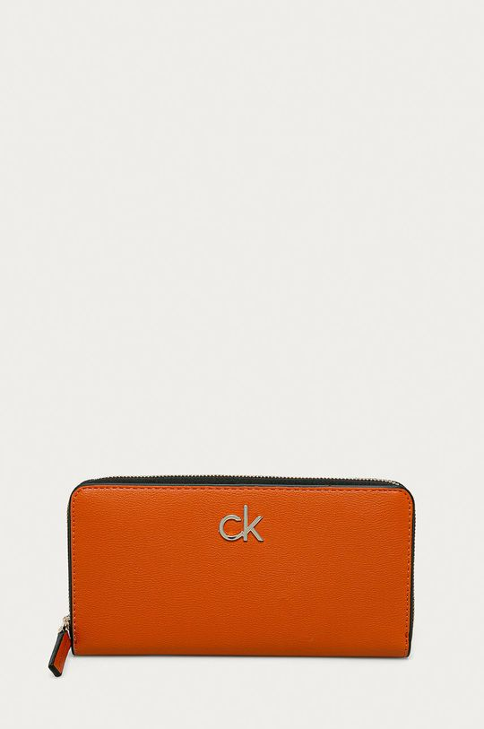 oranžová Calvin Klein - Peňaženka Dámsky