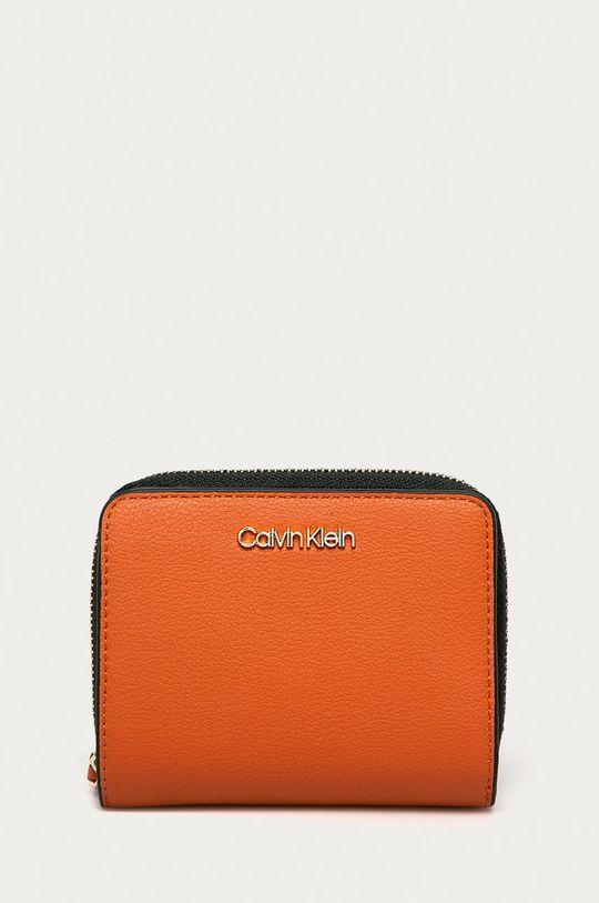 portocaliu Calvin Klein - Portofel De femei