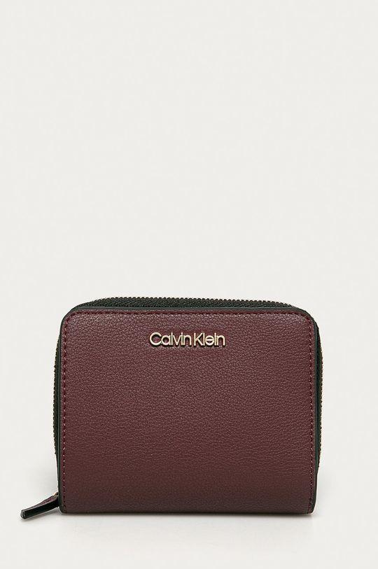 purpurový Calvin Klein - Peňaženka Dámsky