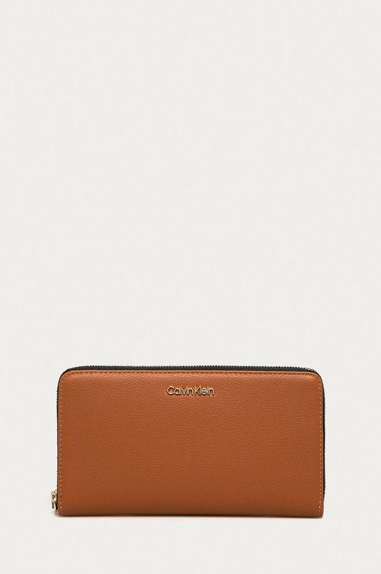 maro auriu Calvin Klein - Portofel De femei