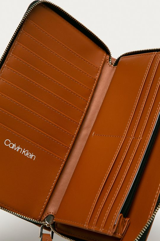 Calvin Klein - Portofel maro auriu