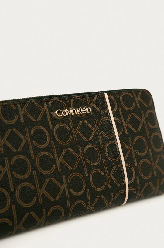 Calvin Klein - Portofel maroniu murdar