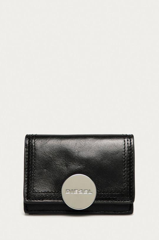 černá Diesel - Kožená peněženka Dámský