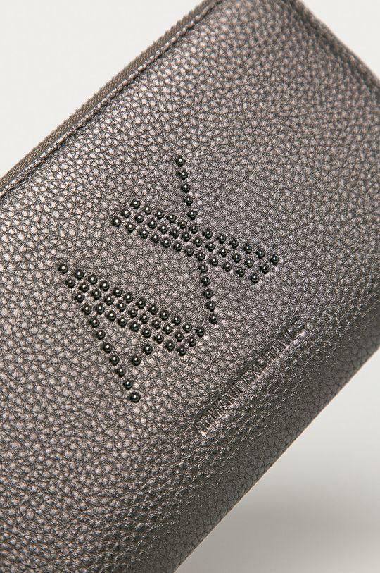 Armani Exchange - Peňaženka grafitová