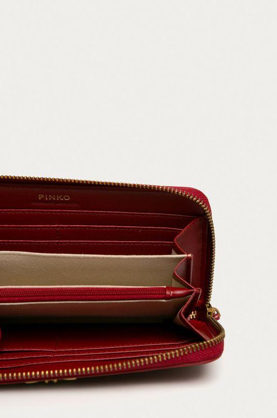 gaštanová Pinko - Kožená peňaženka