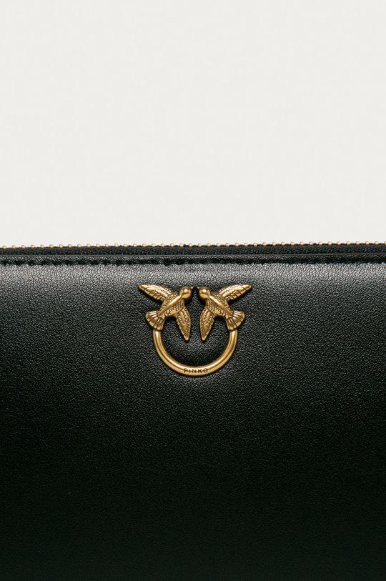 Pinko - Kožená peňaženka čierna