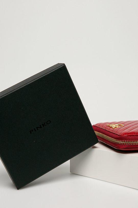 gesztenyebarna Pinko - Bőr pénztárca