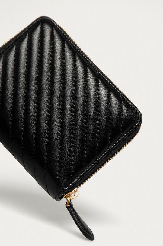 Pinko - Bőr pénztárca fekete