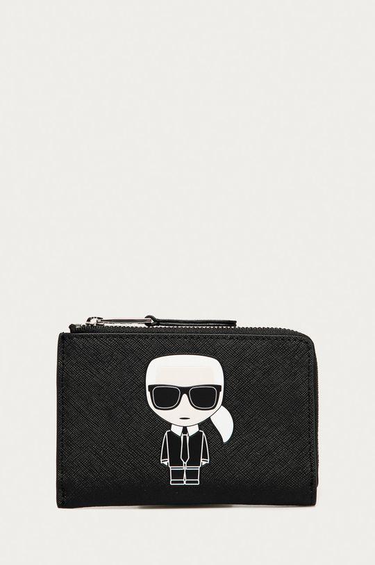 negru Karl Lagerfeld - Portofel de piele De femei