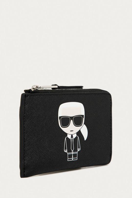 negru Karl Lagerfeld - Portofel de piele