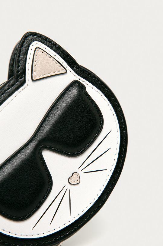 Karl Lagerfeld - Kožená peňaženka čierna