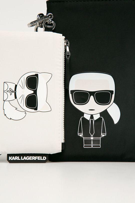 Karl Lagerfeld - Peňaženka  90% Polyamid, 10% Prírodná koža