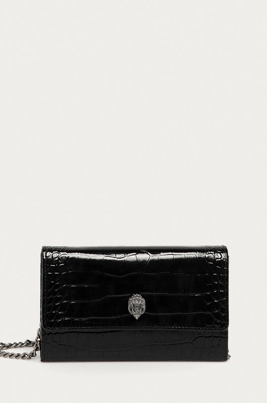 čierna Kurt Geiger London - Kožená peňaženka Dámsky