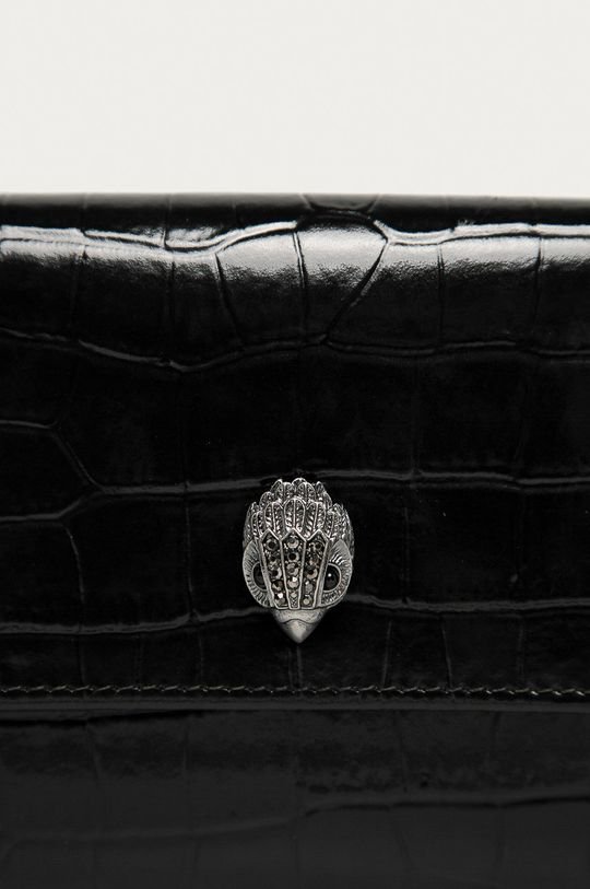 Kurt Geiger London - Kožená peňaženka čierna