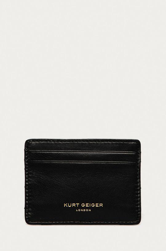 černá Kurt Geiger London - Kožená peněženka Dámský