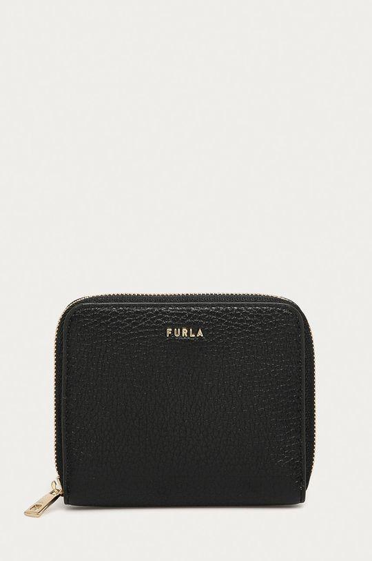 чорний Furla - Шкіряний гаманець Babylon Жіночий