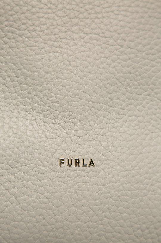 piaskowy Furla - Torebka skórzana