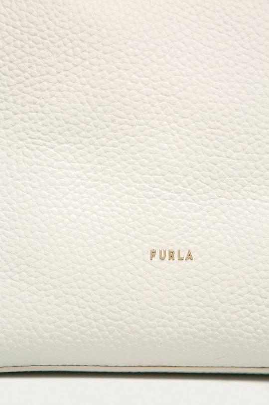 Furla - Kožená kabelka Ballerina bílá