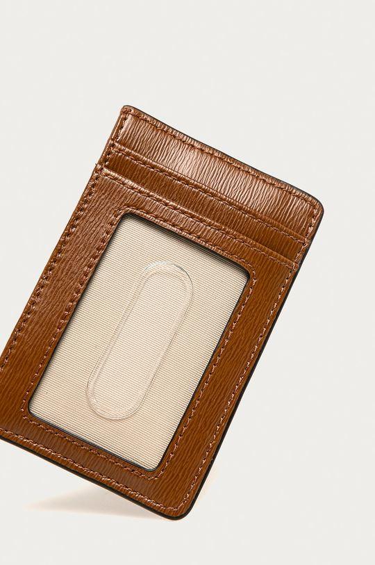Lauren Ralph Lauren - Kožená peněženka zelená