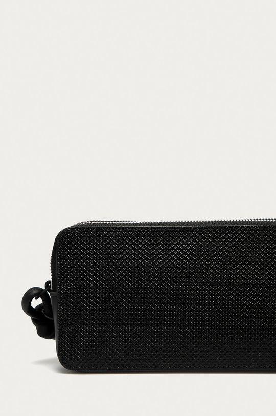 czarny Lacoste - Portfel skórzany
