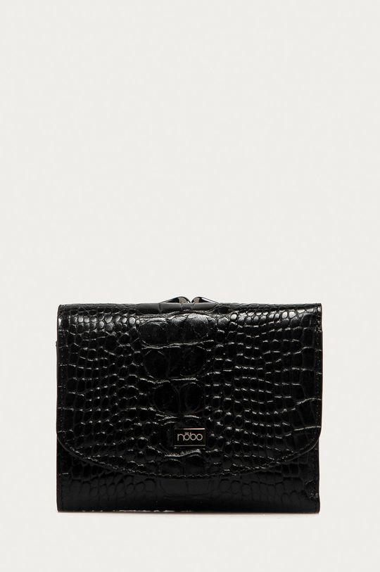 čierna Nobo - Kožená peňaženka Dámsky