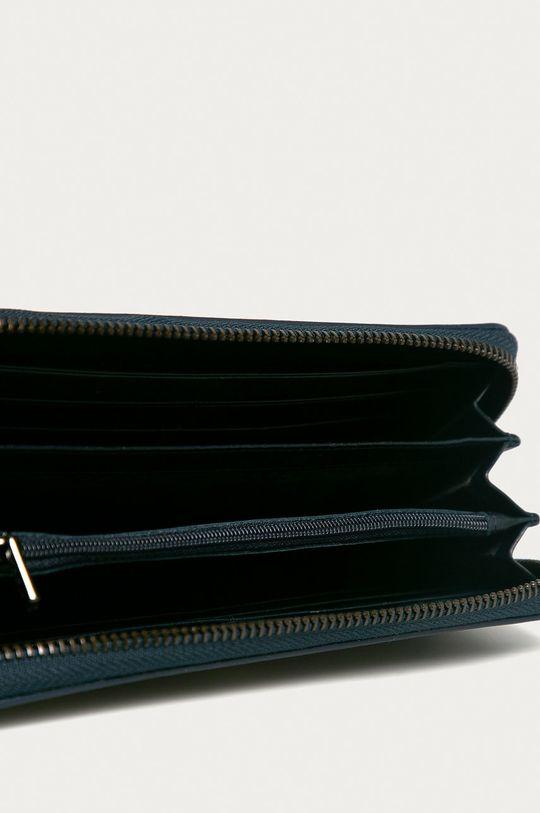 Nobo - Kožená peňaženka tmavomodrá
