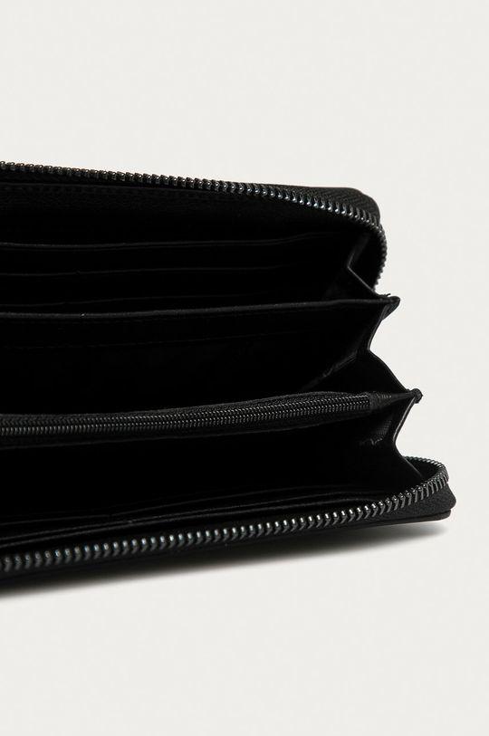Nobo - Kožená peňaženka čierna