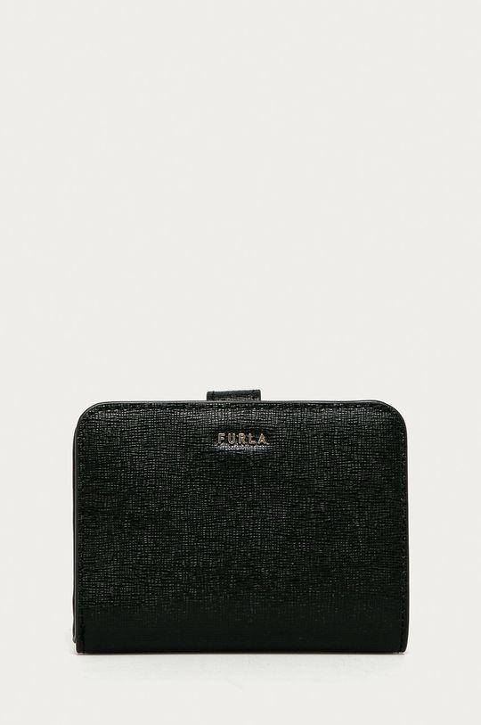 černá Furla - Kožená peněženka Dámský