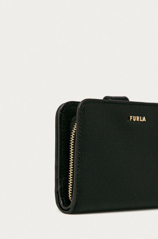Furla - Kožená peněženka černá