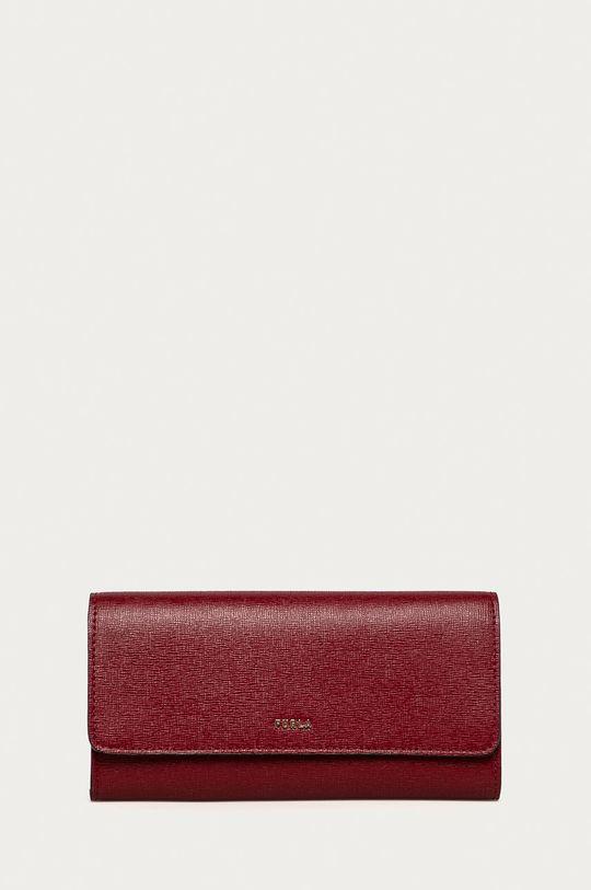 pastelově růžová Furla - Kožená peněženka Babylon Dámský