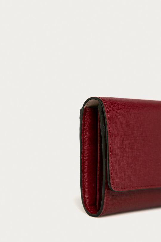 Furla - Kožená peněženka Babylon pastelově růžová