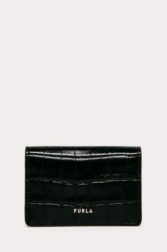 černá Furla - Kožená peněženka Babylon Dámský