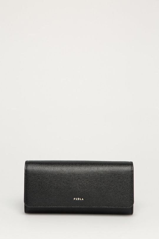 čierna Furla - Kožená peňaženka Babylon Dámsky